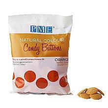 PME Natural Colour Candy Buttons Orange 200g