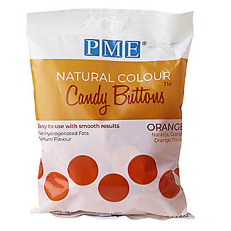 PME Natural Colour Candy Buttons Orange 200g alt image 3