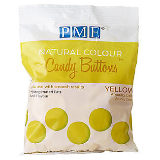 PME  Natural Colour Candy Buttons Yellow 200g alt image 3