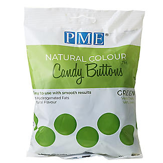 PME Natural Colour Candy Buttons Green 200g alt image 3