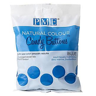 PME Natural Colour Candy Buttons Blue 200g alt image 3