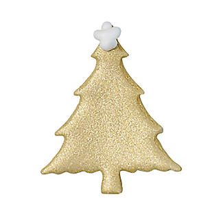 Glistening Gold Tree Edible Sugarcraft Cake Toppers – Pack of 6 alt image 3
