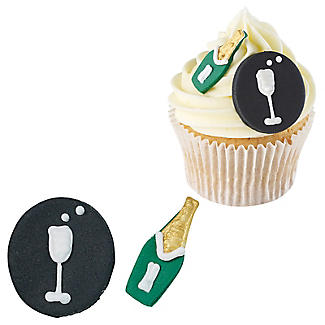 Celebration Edible Cake Toppers – Pack of 5 alt image 2