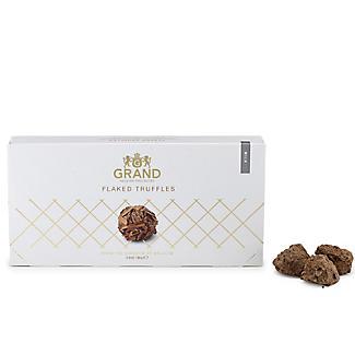 Grand Belgium Milk Chocolate Flaked Truffles 80g