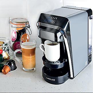 Lakeland 2-in-1 Coffee Pod Machine Dark Grey alt image 6