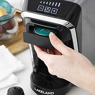 Lakeland 2-in-1 Coffee Pod Machine Dark Grey alt image 7