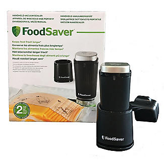 FoodSaver Handheld Vacuum Sealer Plus 10 Bags and 1.2L Box alt image 9