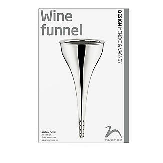 Nuance Stainless Steel Wine Funnel with Strainer alt image 3
