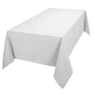 Le Chateau Easy-Care Rectangular Tablecloth – White 132 x 228cm