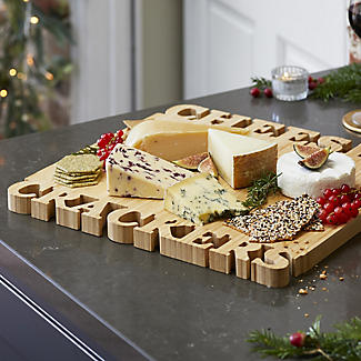 Lakeland Cheese and Crackers Bamboo Serving and Chopping Board alt image 2