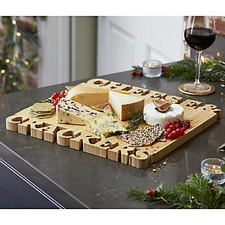 Lakeland Cheese and Crackers Bamboo Serving and Chopping Board alt image 3