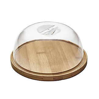 Lakeland Smelly Cheese Small Round Dome-Lidded Cheeseboard alt image 3
