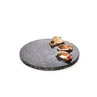 24cm Granite Round Serving Board