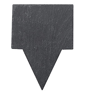 4 Slate Cheese Markers with Chalk alt image 3