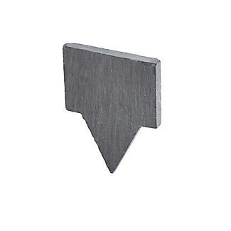 4 Slate Cheese Markers with Chalk alt image 5