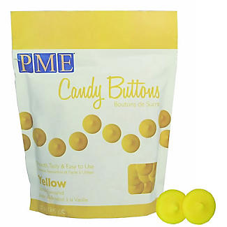 Knightsbridge PME Candy Buttons Yellow 340g