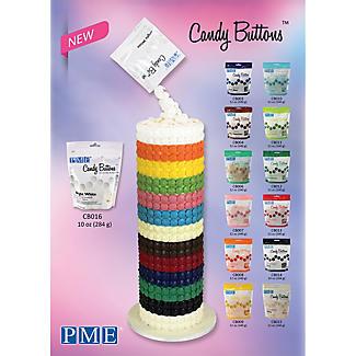 Knightsbridge PME Candy Buttons Pink 340g alt image 6