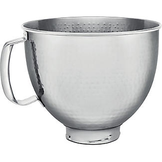 KitchenAid 4.8L Hammered Stainless Steel Bowl 5KSM5SSBHM