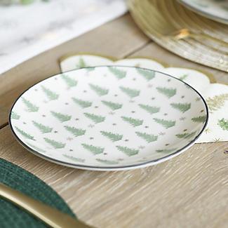 Festive Forest Christmas Side Plates – Set of 4 alt image 2