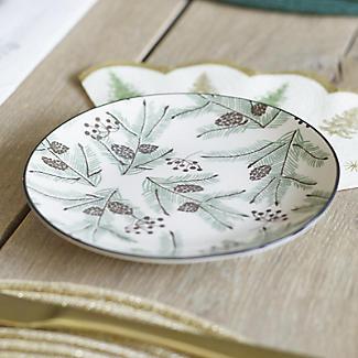 Festive Forest Christmas Side Plates – Set of 4 alt image 3