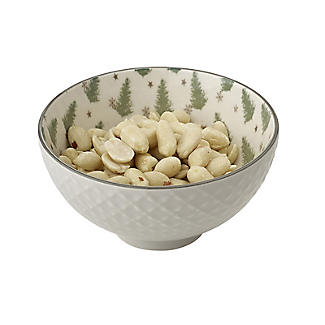 Festive Forest Textured Christmas Snack Bowls – Set of 2 alt image 3