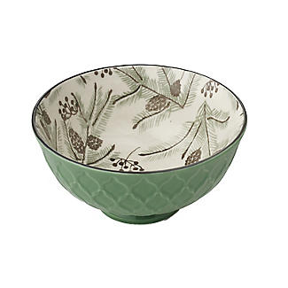Festive Forest Textured Christmas Snack Bowls – Set of 2 alt image 5