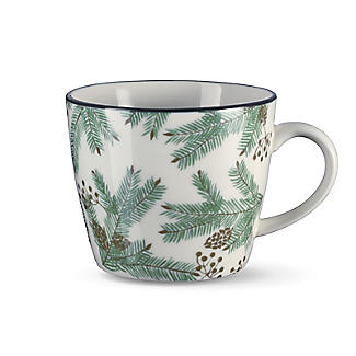 Festive Forest Christmas Pines Mug