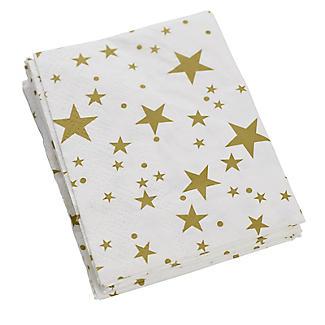 12 Lakeland Gold Star Folded Napkins alt image 4