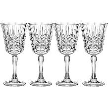 Crystal-Look Acrylic Wine Glass x 4