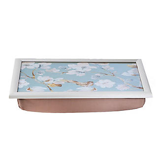 Duck Egg Floral Padded Lap Tray alt image 2