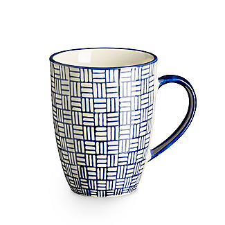 London Pottery Out of the Blue Mugs – Set of 4 alt image 6