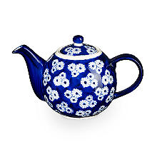 London Pottery Out of the Blue Teapot – 4 Cup
