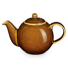 London Pottery Brown Globe Teapot – 6 Cup