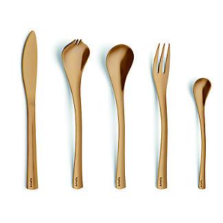 Amefa Celebration 10-Piece Tapas Party Cutlery Gift Set Gold