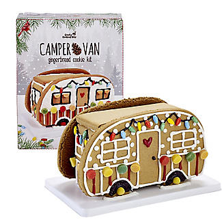 Campervan Gingerbread Make Your Own House Kit