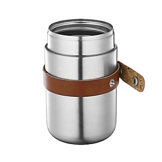 Black+Blum Stainless Steel Small Food Flask and Spoon 400ml alt image 4