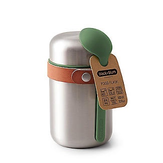 Black+Blum Stainless Steel Small Food Flask and Spoon 400ml alt image 6
