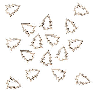 Wooden Christmas Tree Table Confetti alt image 3
