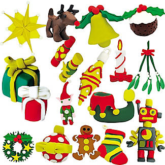 Christmas Plasticine Advent Calendar Kit alt image 5