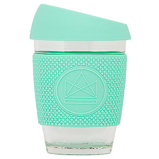 Neon Kactus Glass Eco Coffee Cup 340ml – Free Spirit Green