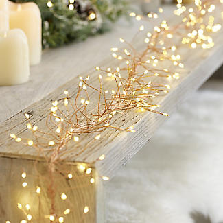 LED Rose Gold Light String 2.7m alt image 3