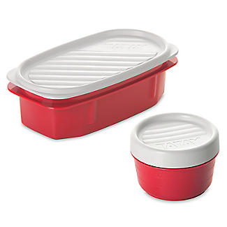 Tatay 5-Piece Urban Lunch Pack with 4 Food Containers – Red alt image 5