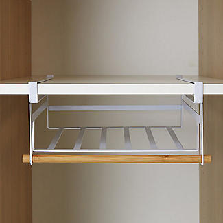 Xtend Wardrobe Under-Shelf Basket alt image 2