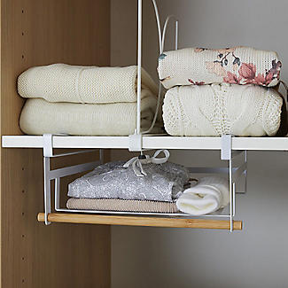 Xtend Wardrobe Under-Shelf Basket alt image 3