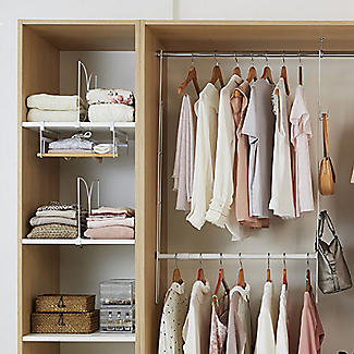 Xtend Wardrobe Under-Shelf Basket alt image 5