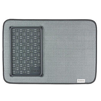Polder Microfibre Dish Drying Mat and Glass Tray alt image 5