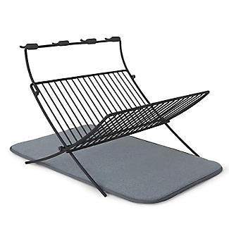 Umbra XDry Folding Dishrack and Drying Mat alt image 1