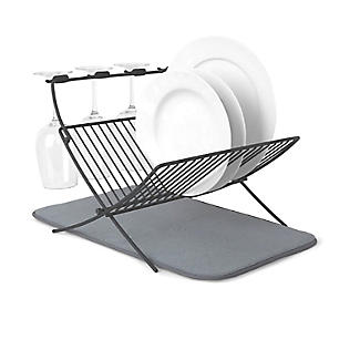 Umbra XDry Folding Dishrack and Drying Mat alt image 4