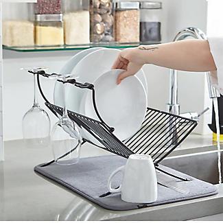 Umbra XDry Folding Dishrack and Drying Mat alt image 6