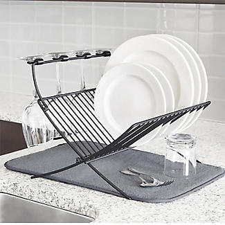 Umbra XDry Folding Dishrack and Drying Mat alt image 7